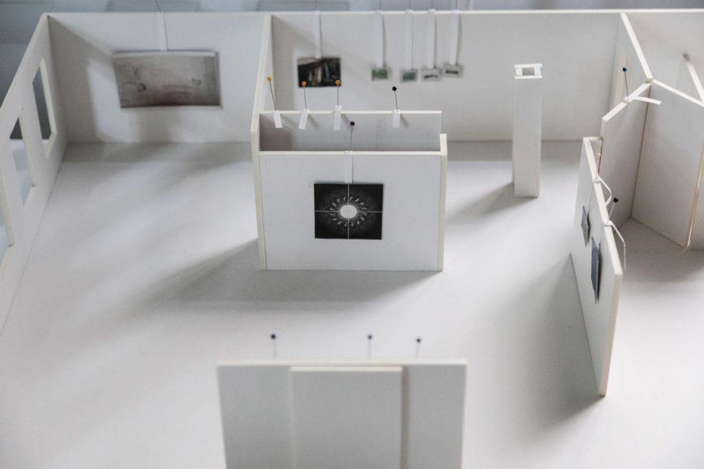 »generell frisch« Modell zur Ausstellung im Literaturhaus Halle
